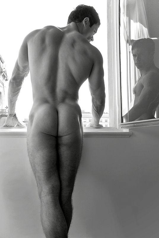 Round sexy butt